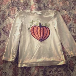 Gymboree Toddlers 4T Pumpkin Top